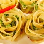 水煎玫瑰饺子(七夕情侣餐)