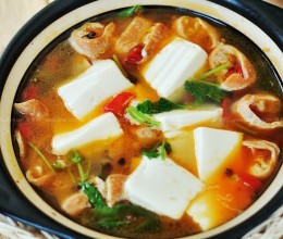 大肠炖豆腐