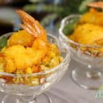 肯德基炸虾、金沙玉米