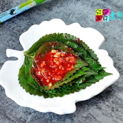 韩国苏子叶泡菜