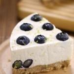 免烤藍莓檸檬生乳酪蛋糕