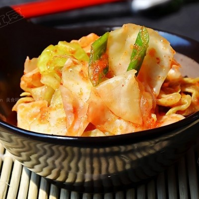 韩式切片泡菜