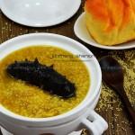 海参小米粥(早餐食谱)