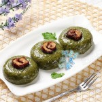 红枣艾叶糯米饼(传统小吃)