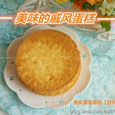 空气炸锅做戚风蛋糕