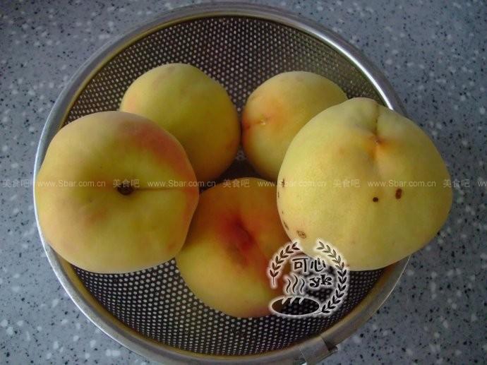 自制黄桃罐头
