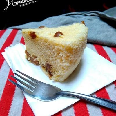 葡萄干海绵蛋糕