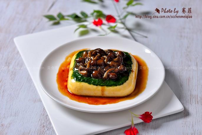 滑菇蛋豆腐