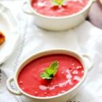 甜菜头土豆奶油浓汤