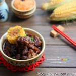 玉米焖牛肉