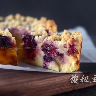 小酥粒水果奶酪蛋糕