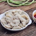 豇豆大肉餃子(早餐食譜)