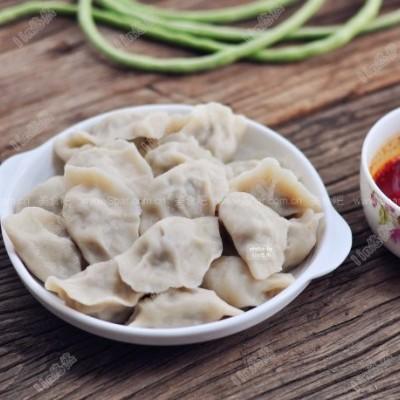 豇豆大肉饺子