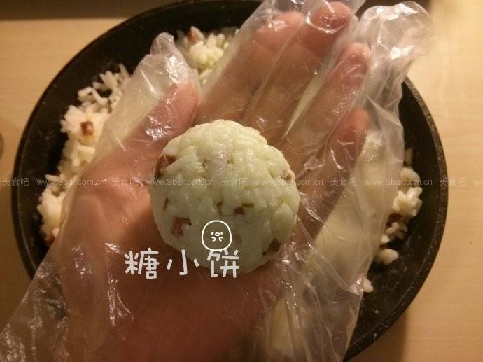 辣肠芝心饭团