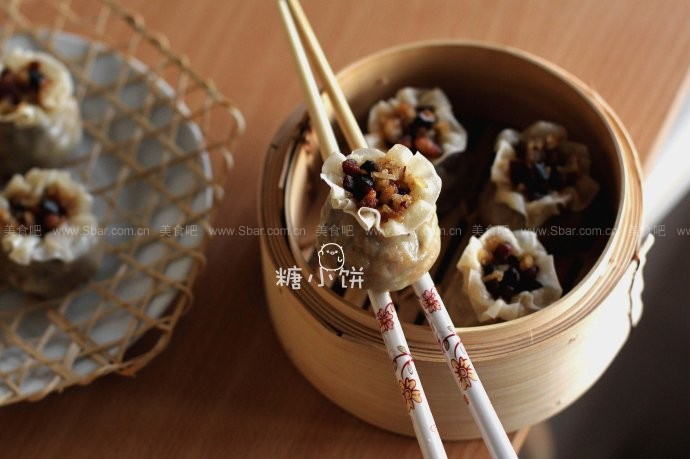 香菇肉丁糯米烧麦