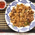 干炒牛河(早餐食谱)