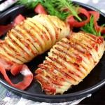 培根烤土豆(烤箱菜)