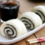 黑芝麻花卷(早餐食谱)