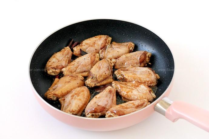 黑椒可乐鸡翅