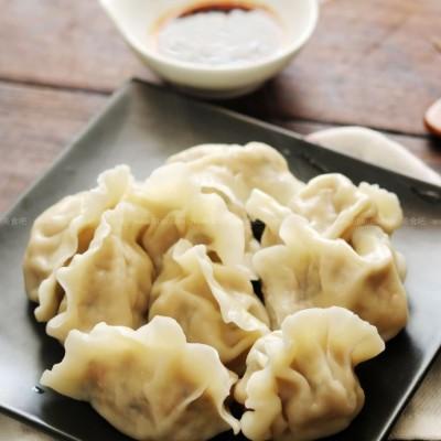 鲜肉莲藕水饺