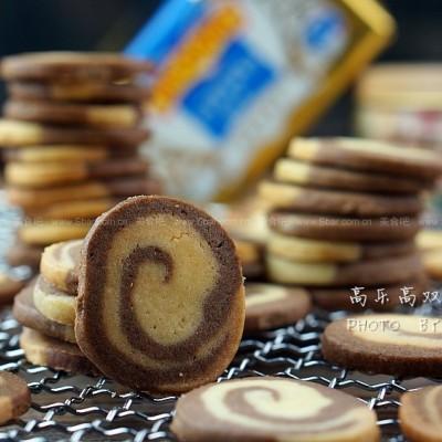 高乐高双味饼干