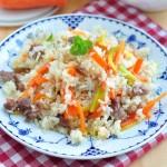 羊肉抓飯(新疆美食)