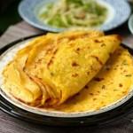 鸡蛋薄饼,南瓜咸薄饼(早餐食谱)
