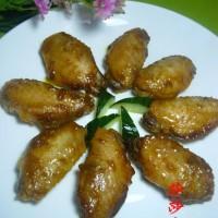 微波咖喱鸡翅