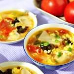 西红柿鸡蛋面片汤(早餐食谱)