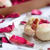 玫瑰苏式月饼