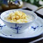鸡肉丝瓜油条粥(早餐食谱)