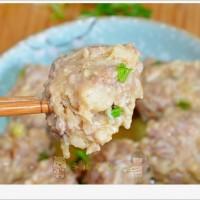 金针菇蒸肉丸子