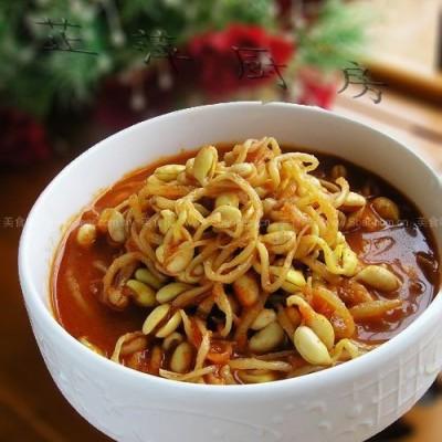 韩国泡菜黄豆芽