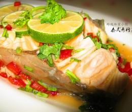 泰式青柠蒸鱼