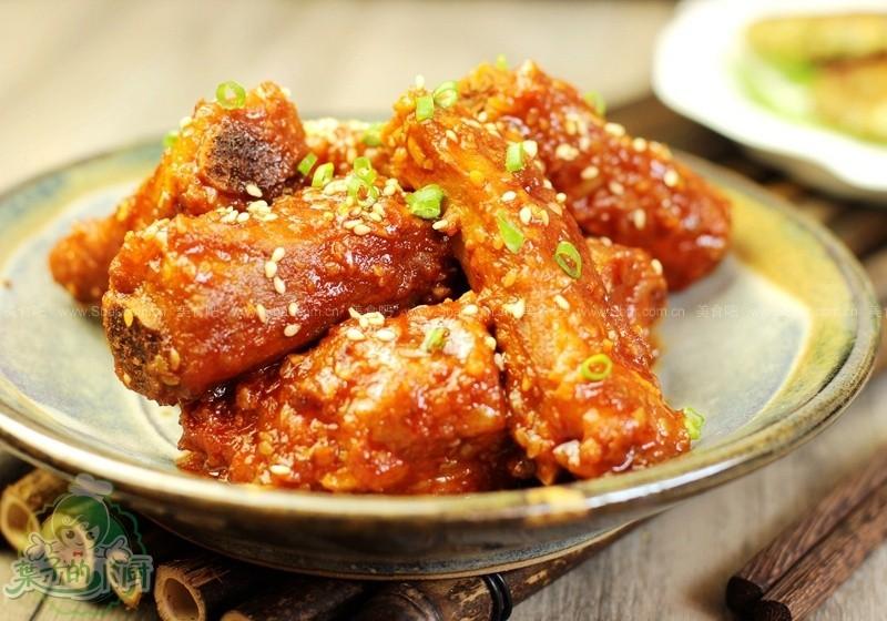 韩式辣小排