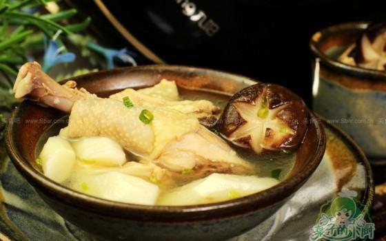 秋季養生雞湯(電飯煲食譜)