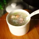 虾仁排骨粥(补钙最佳品)