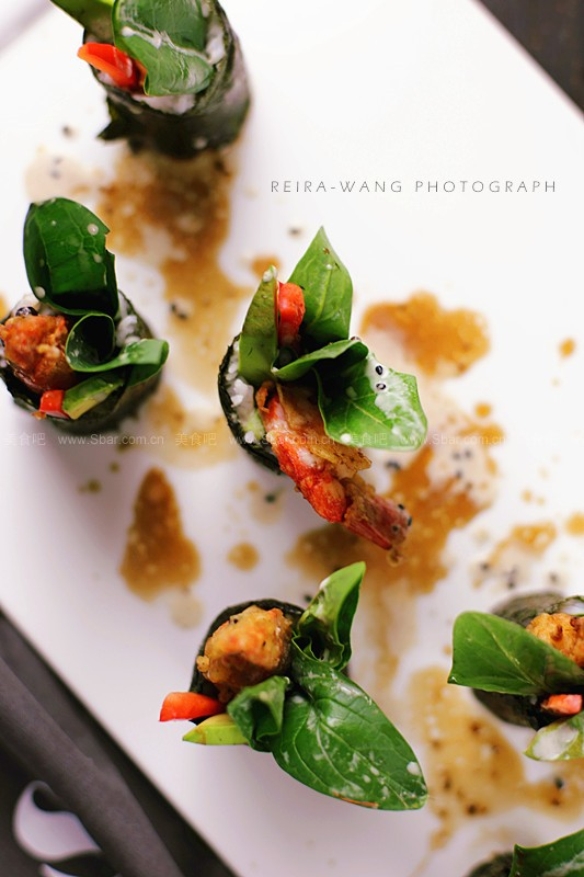 炸蝦壽司卷