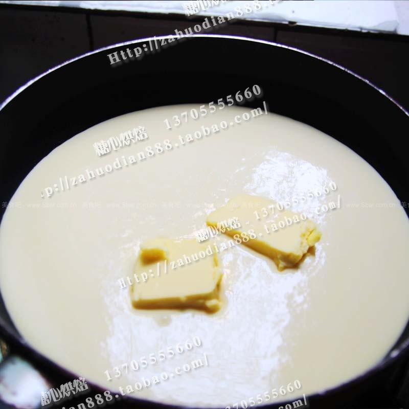低糖金沙奶黄馅料