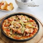 黑椒鸡腿披萨(番茄披萨酱)