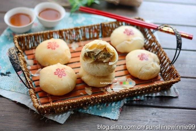 苏式榨菜鲜肉月饼