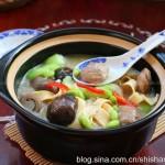 牛肉丸杂菜锅