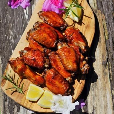 蒜香枫糖蜜汁烤鸡翅