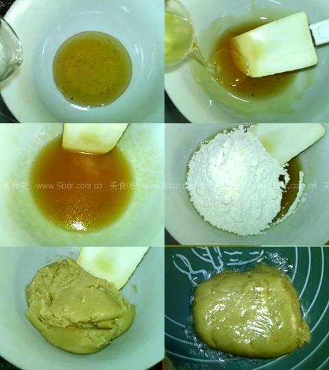 广式核桃豆沙月饼