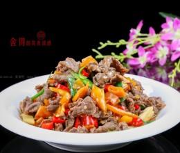 黄贡椒炒牛肉
