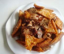 新疆馕炒烤肉