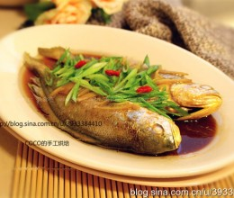 蒸鱼豉油蒸黄花鱼