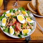 金枪鱼鸡蛋沙拉(节后清肠)
