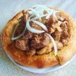 馕包肉(新疆风味名食)