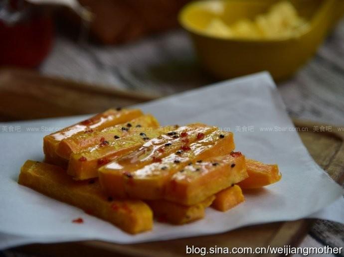 桂花蜂蜜红薯条